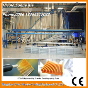Complete Powder Coating Line for Coating Aluminium Profile pictures & photos