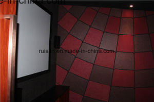 Polyester Fibre Acoustic Panel for Movie Theater pictures & photos