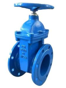 Non Rising Stem Resilient Seated Gate Valve pictures & photos