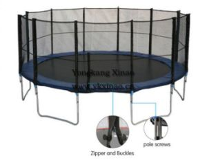 16ft Best Outdoor Trampoline with Safety Net