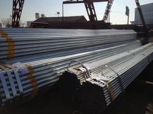 Low Carbon Welded Pre-Galvanised Steel Pipe pictures & photos