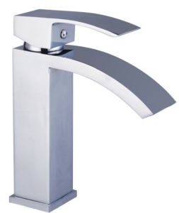 Square Chrome Basin Tap (CB-31001) pictures & photos