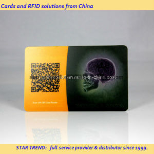 Transparent PVC Card Four Color Print with Embossing No pictures & photos