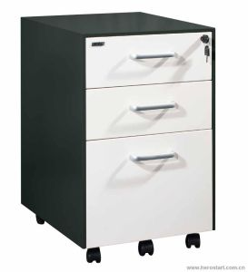 3 Drawer Cheap Mobile Pedestal File Cabinet for Office pictures & photos