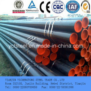 Stainless Steel Seamless Pipe Plain End with Cap pictures & photos