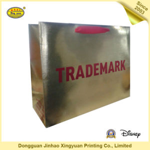 Luxury Printed Gift Paper Bags Cosmetic Shopping Paper Bag (JHXY-PB16051803)