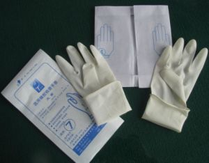 Examination Latex Glove, Disposables Surgical Exam Gloves pictures & photos