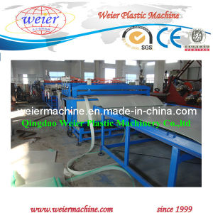 2100mm PP/PE Hollow Grid Sheet Production Line pictures & photos