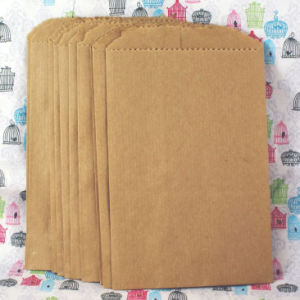 High Quality Brown Kraft Paper Bag for Fast Food pictures & photos
