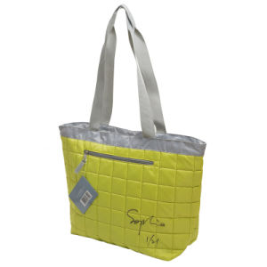 Quilted Tote Woman Handbag Bag for Beach pictures & photos