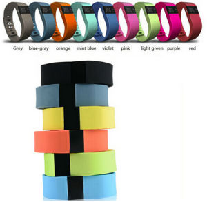 Bluetooth Smart Silicon Bracelet Step Counter pictures & photos