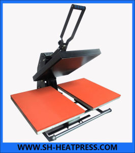 New Design Manual Double Stations T-Shirt Heat Press Machine, Automatic Open Heat Press Machines Cy-G8 pictures & photos