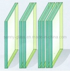 Laminated Glass, Available in Clear and Colored PVB pictures & photos