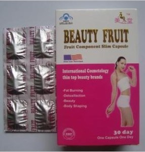 Beauty Fruit Fat Burning Fruit Component Slim Capsule pictures & photos