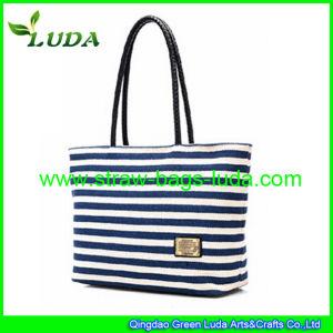 Luda Fashion Straw Bag Canvas Bag