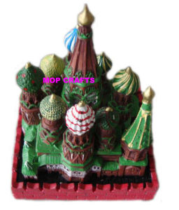 Polyresin Russian Building, Resin Mini Building pictures & photos