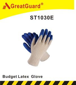 Latex Glass Gripper Glove pictures & photos