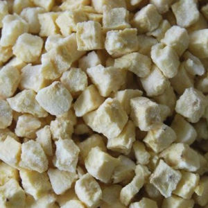 Organic Healthy Delicious Freeze Dried Pineapple Dice for Young and Old