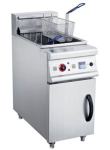 Commercial Electric Deep Fryer with Cabinet pictures & photos