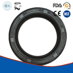 Rubber Seal Ring Covered Steel Case Spring Loaded Oil Seal pictures & photos