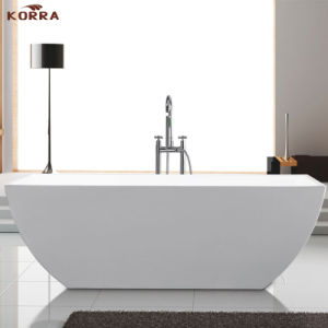 Acrylic Simple Freestanding Bathtub (K1505) pictures & photos