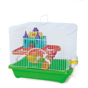 Special Portable Cage for Traveling Hamster Cage pictures & photos