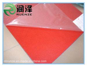 Bright Color Polyester Film Coated Non Woven Exhibition Carpet pictures & photos
