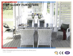 Outdoor Durable Garden Rattan Teak Table Set (TG-1633) pictures & photos