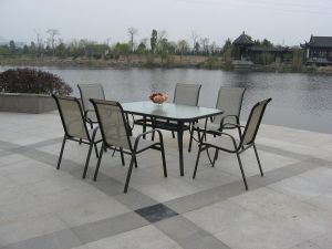 Outdoor Metal Table Chair Set pictures & photos