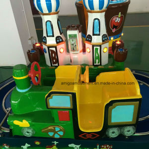 2 Players Green Castle Train for Little Kids pictures & photos