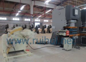 Pneumatic Decoiling and Straightening Unit Uncoiler and Straightening Machine Rgl-400 Model pictures & photos