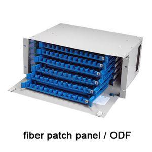 72 Port Fiber Optic Patch Panel Fiber Optic Distribution Frame pictures & photos