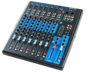 8 Channel Mixing Console Professional Audio Mixer (MQ8FX-USB) pictures & photos