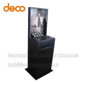 Cosmetic Cardboard Paper Display Rack Pop Exhibition Stand pictures & photos