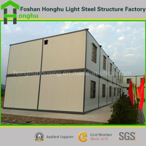 Low Cost Container Mobile Prefabricated Building House in China pictures & photos
