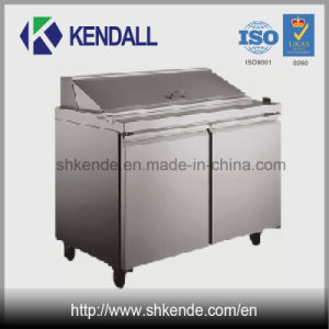 Commercial Stainless Steel Pizza Refrigerator/ Under Counter