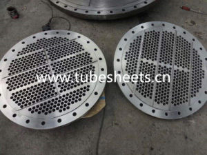 Machining Drilled Tube Sheets pictures & photos