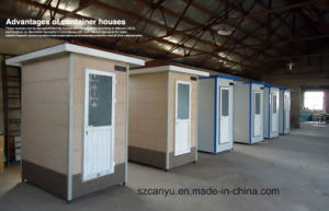 Low Price Prefabricated Building Movable Toilet pictures & photos