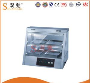 Stainless Steel Warming Showcase/Display Cabinet for Wholesale pictures & photos