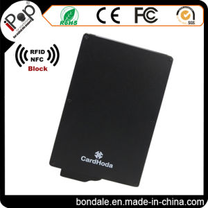 Credit Card Use and Aluminum Material RFID Protector Holder Wallet pictures & photos