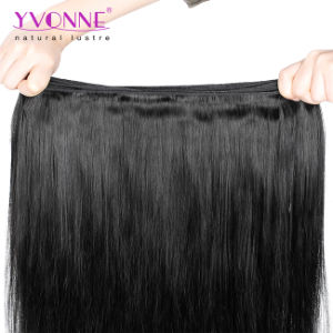 Grade 5A 100% Brazilian Natural Straight Virgin Hair Weave 1b Color pictures & photos