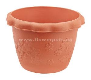 Wave Edge Plastic Flower Pot (KD3902-KD3906) pictures & photos