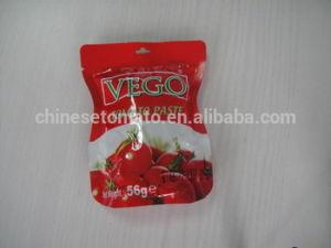 70g Al Mudhish Tomato Paste Pouches 22-24% pictures & photos