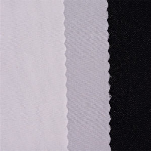 50d Water Jet Loom Woven Interlining Fabric&Fusible Interfacing pictures & photos