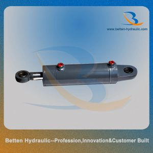 Double Acting Short Stroke Hydraulic Cylinder Piston Rod pictures & photos