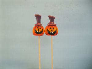 Halloween Pumpkin Ceramic Arts and Crafts (LOE2382-6.5p) pictures & photos
