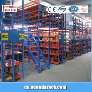 Multi-Level Shelf Warehouse Storage Racking with Mazzanine Floor pictures & photos