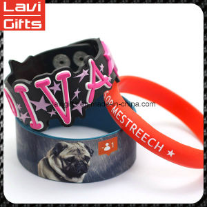 Funny Custom Silicone Rubber Bracelet with Logo pictures & photos