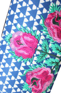 Fashion Custom Printing and Embroidery Designed Fabric Wallet pictures & photos