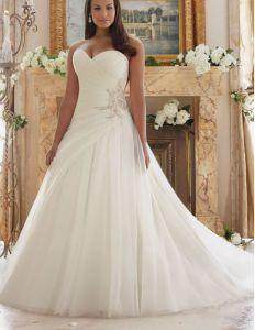2017 Plus Size Bridal Wedding Dresses Ctd203 pictures & photos